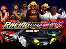 Игровой автомат Racing For Pinks – игровой автомат для любителей скорости в казино на деньги